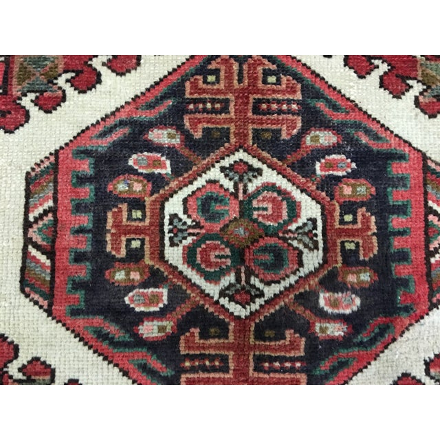 "Vintage Karajeh Persian Runner - 2'10"" X 10'4"" - Image 7 of 7"