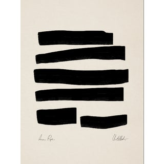Contemporary Abstract Lines Giclee Print For Sale