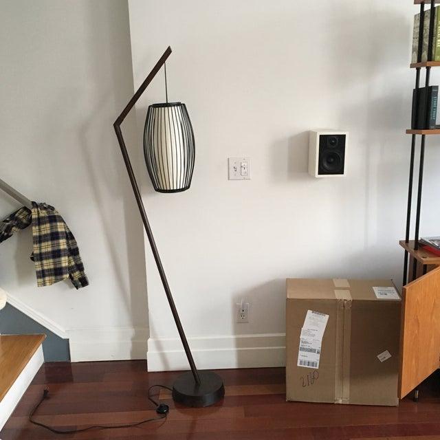 New York-Based Japanese Designer Floor Lamp - Image 8 of 8