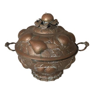 Pressed Brass Pot For Sale