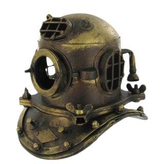 Antique Style Nautical Deep Sea Helmet Bust