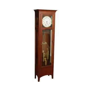 "Ethan Allen ""American Impressions"" Cherry Grandfather Clock For Sale"
