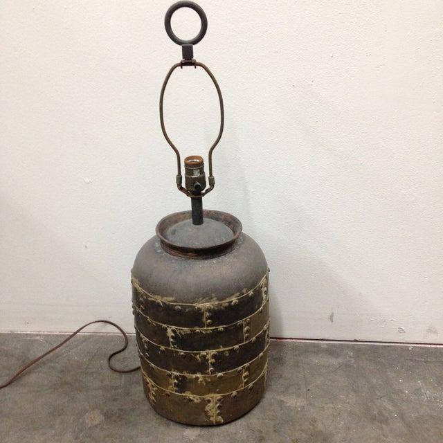 Vintage Chapman Brutalist Lamp For Sale - Image 5 of 11