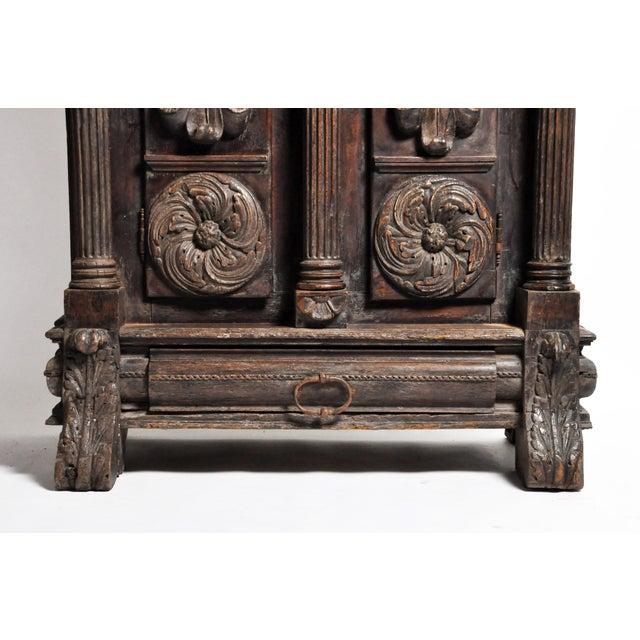 Impressive Renaissance Revival Armoire For Sale - Image 9 of 13