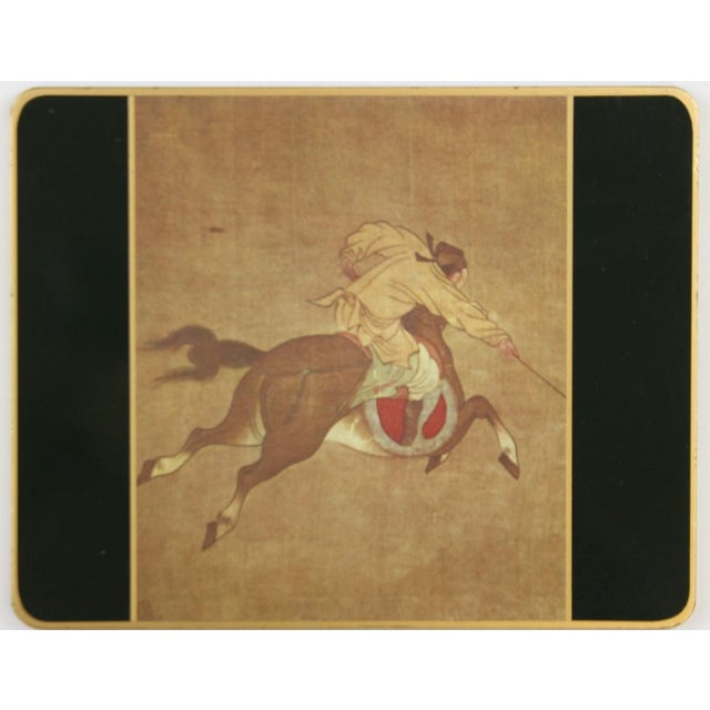 Set of (10) Ming Polo English Scully & Scully Park Ave Plate Mats!~ - Image 5 of 7