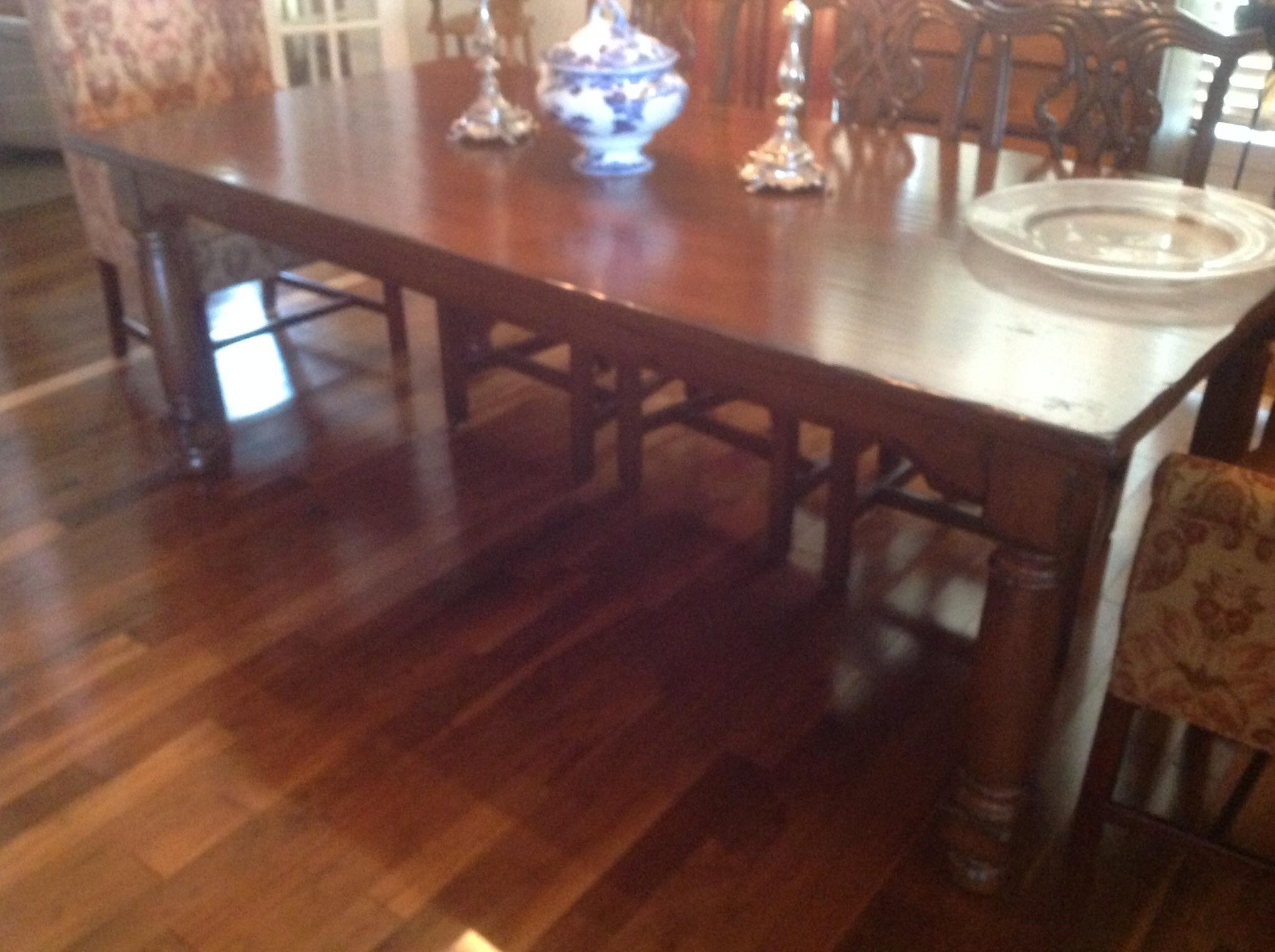 Woodland Furniture Alder Wood Dining Table Chairish