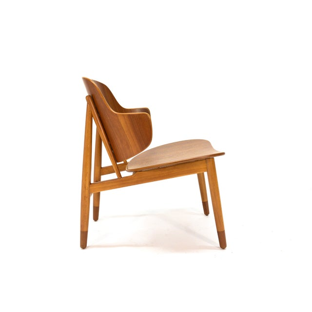Kofod Larsen Teak Shell Lounge Chair - Image 2 of 7