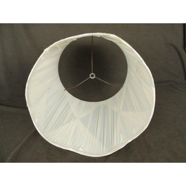 Vintage Mid-Century Modern Cloth Lamp Shade - Image 6 of 6
