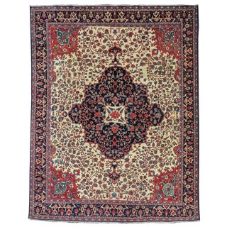 Fereghan Persian Carpet - 10′2″ × 13′2″ For Sale