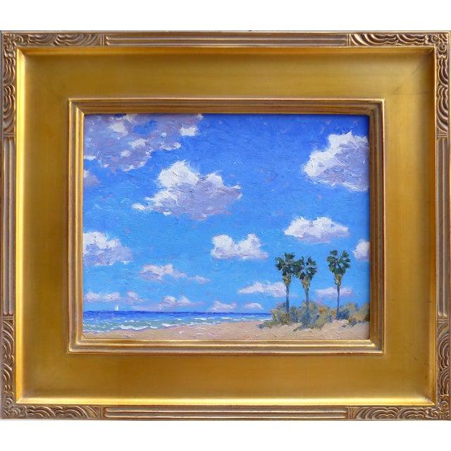 Oceanside Oil Painting by David Eugene Henry - Image 1 of 7