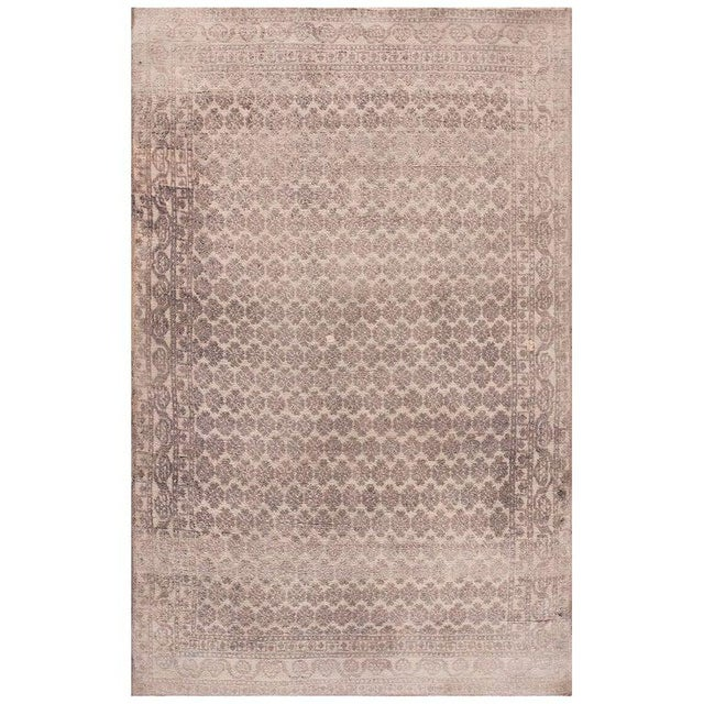 Antique Indian Agra Rug For Sale - Image 10 of 10