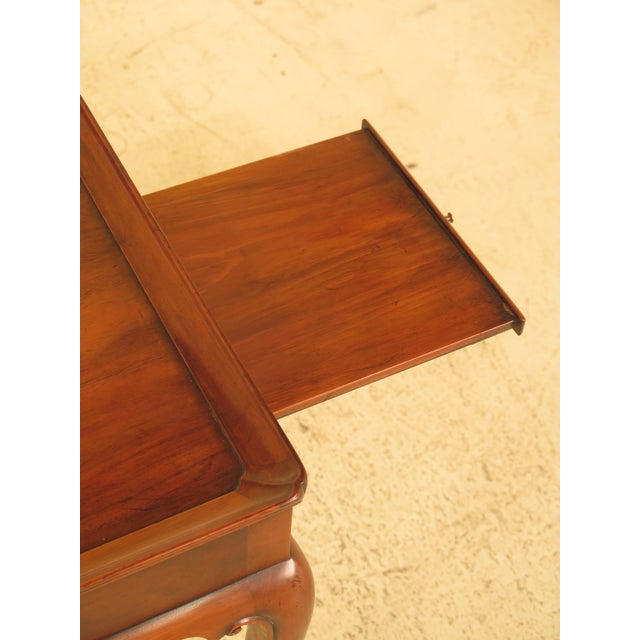 Kittinger Colonial Williamsburg Mahogany Tea Table - Image 4 of 11
