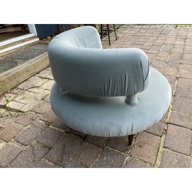 1950s Mid Century Accent Chair For Sale In Philadelphia - Image 6 of 8