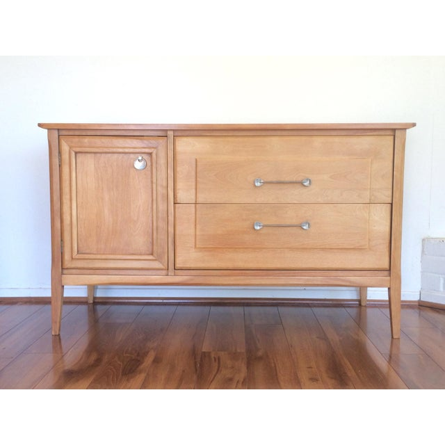 This Heywood-Wakefield credenza is so lovely! It is completely refinished on the outside and looks wonderful. We love the...
