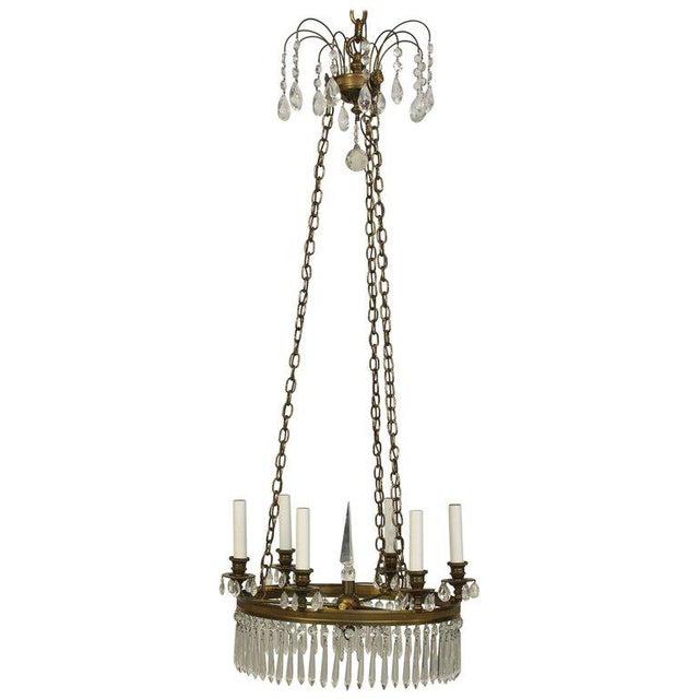 Regency Style Chandelier - Image 4 of 4