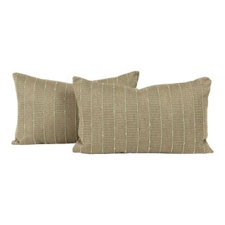 Mid-Century Modern Lumbar Pillow Cover (Pair) For Sale