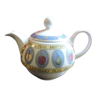 Vintage Circa 1950s Arthur Wood & Son Herbal Tea's Fruit Infusions Tea Pot For Sale