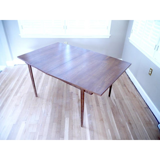 Mid-Century Wooden Dining Table For Sale - Image 9 of 9