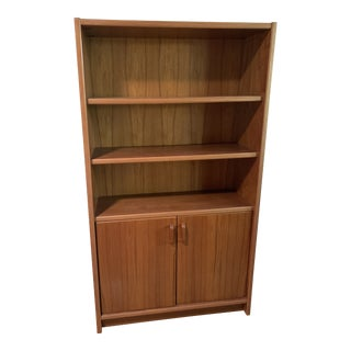 Teak Bookcase/ Cabinet From Denmark For Sale
