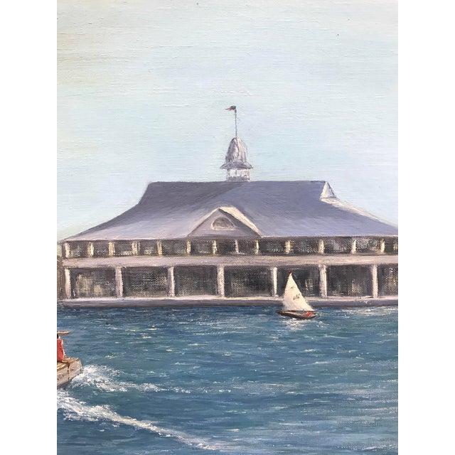 Balboa Pavillion Newport Beach Painting - Image 5 of 9