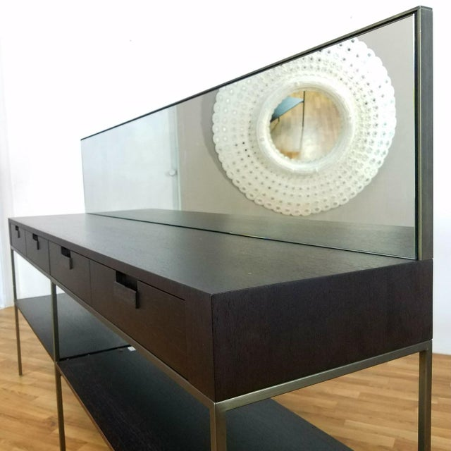 Black B&B Italia Modern Console For Sale - Image 8 of 11
