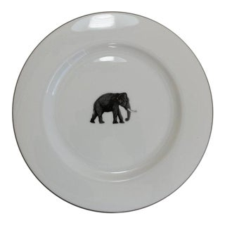 Elephant Dinner Plates - Set of 6 (New)