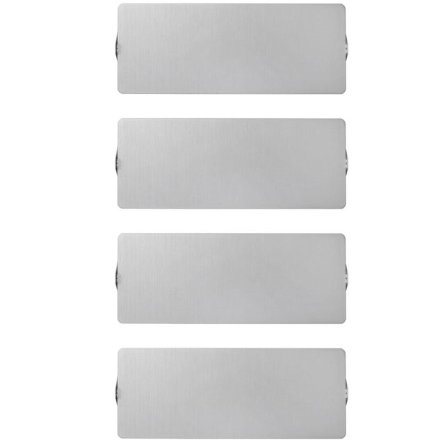 Large Charlotte Perriand brushed aluminum 'CP1' wall lights. Executed in brushed aluminum and white painted metal with...