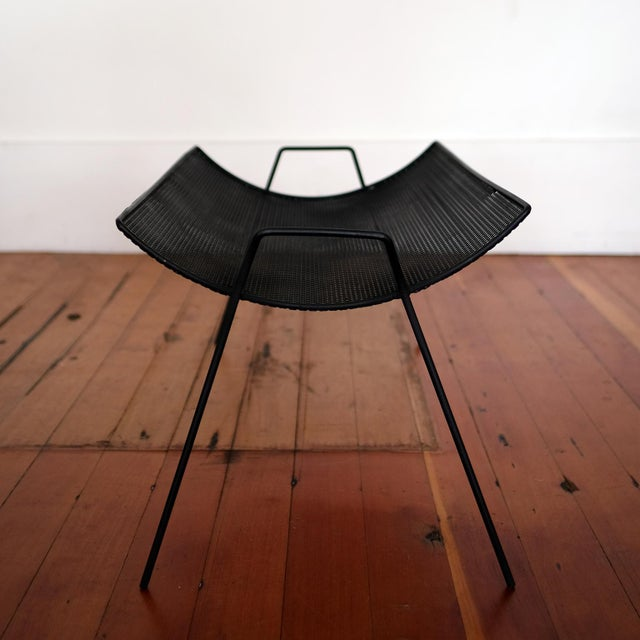 Mid-Century Modern Perforated Metal Catch All by Richard Galef for Ravenware, 1950s For Sale - Image 3 of 8