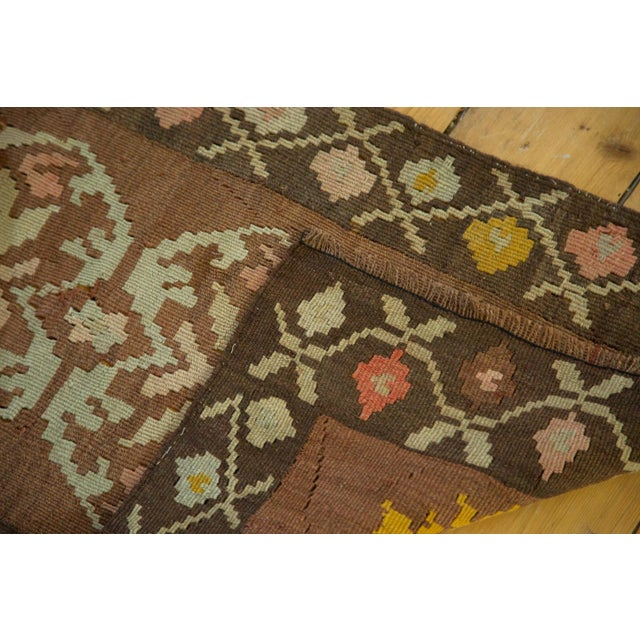 "Vintage Turkish Kilim Runner - 1'7"" x 3'1"" For Sale - Image 5 of 6"