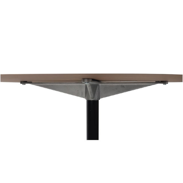 Herman Miller White Eames Aluminum Group Table For Sale - Image 4 of 7