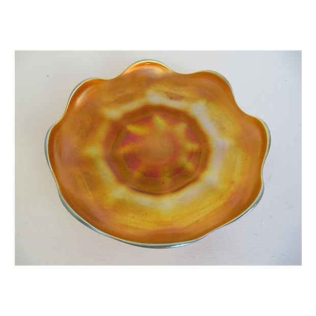 Tiffany Favrile Dish - Image 2 of 4
