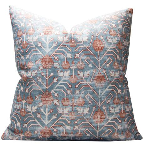 2010s Rubia Zak and Fox Khotan Tribal Designer Pillow For Sale - Image 5 of 5