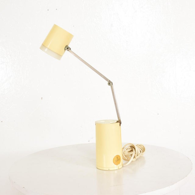 Industrial Mid-Century Modern Task Lamp by Lloyds, After Lightolier For Sale - Image 3 of 9