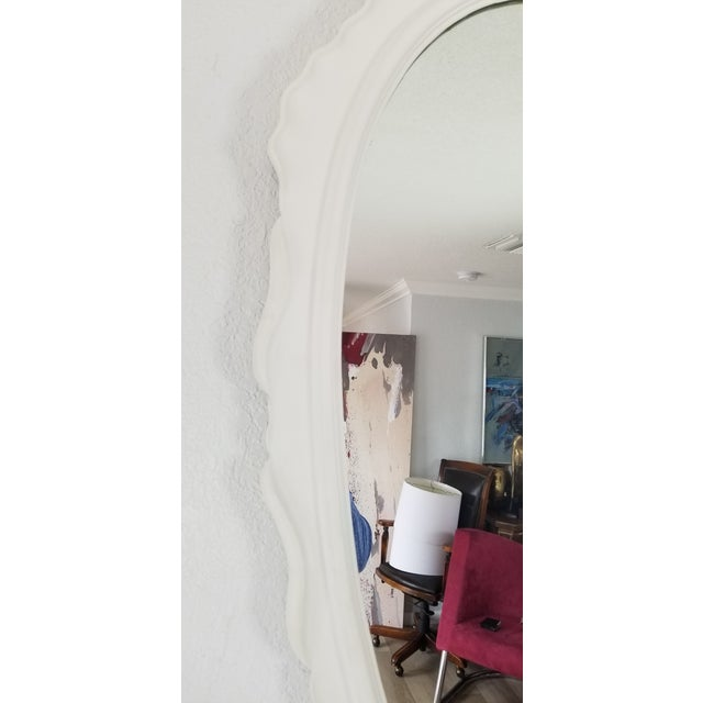 Italian Dorothy Draper Style Wall Mirror For Sale - Image 4 of 9
