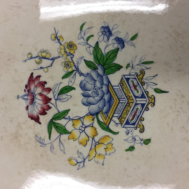 Antique 1860s Minton & Co. Transfer Ware Plate For Sale In New York - Image 6 of 7