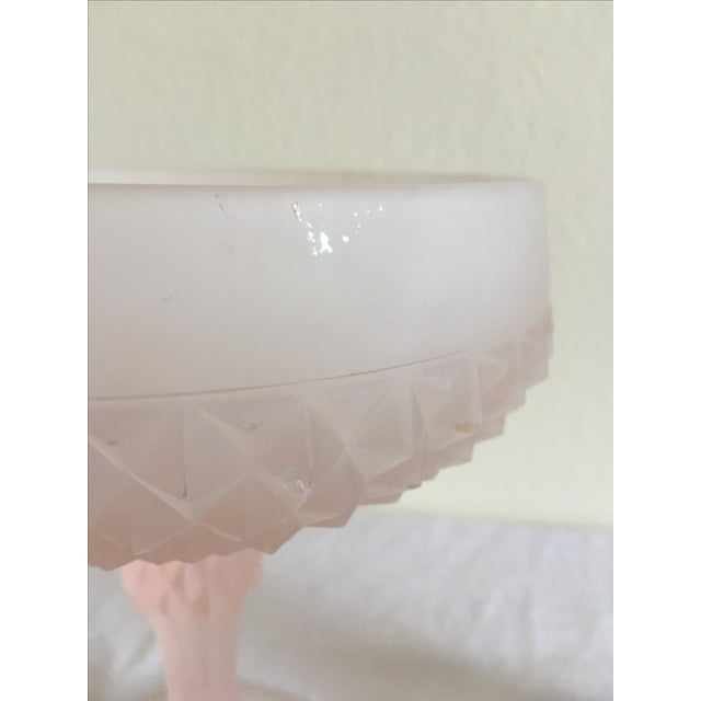 Mid-Century Pedestal Bowl & Candle Holder - Pair - Image 6 of 9