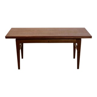 Extendable Kai Kristiansen Rosewood Elevator Table