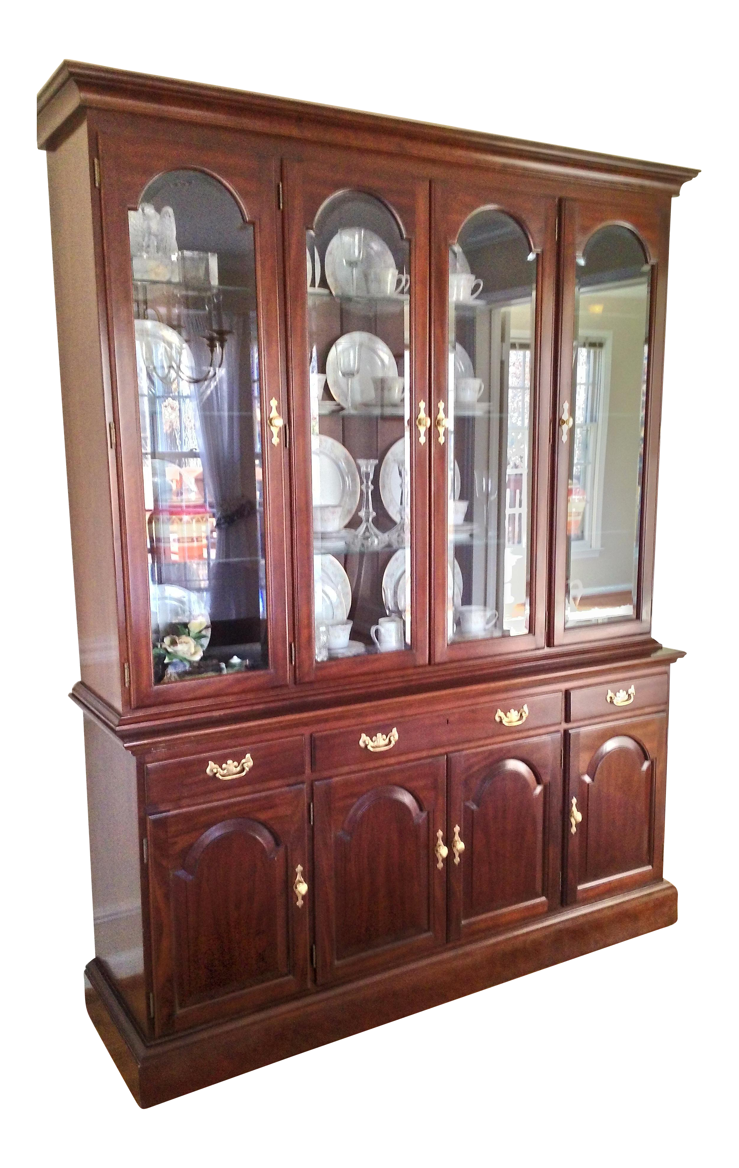 Stickley Solid Cherry China Cabinet