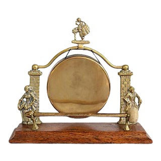 Midcentury English Manor House Dinner Bell For Sale