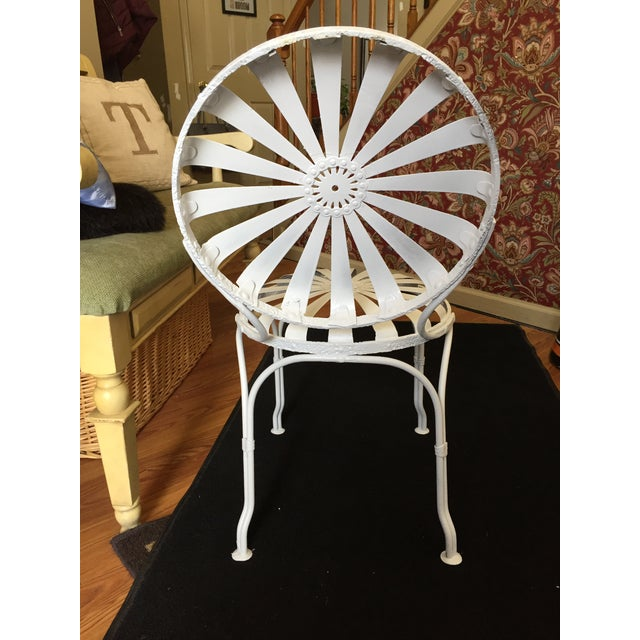 Early 20th Century Early 20th Century Vintage French Garden Chair For Sale - Image 5 of 8