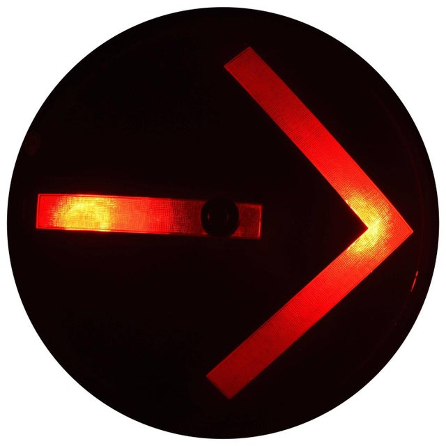 Traffic Signal Light Wall Sconce For Sale - Image 11 of 11