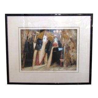"""Manhattan Bar"" Framed Print For Sale"