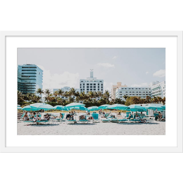 "Contemporary Medium ""Miami I"" Print by Natalie Obradovich, 30"" X 20"" For Sale - Image 3 of 3"