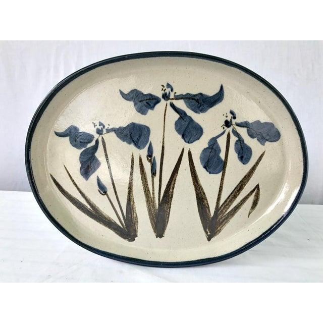 Vintage R. Brinker Handmade Stoneware Serving Platter - Image 2 of 5