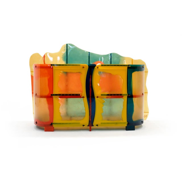 "Gaetano Pesce ""Nobody's Perfect"" Multi-Color Resin Sideboard For Sale - Image 13 of 13"