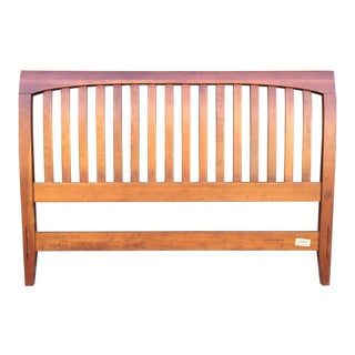 "Contemporary Ethan Allen Cherrywood Queen ""Teagan"" Headboard"