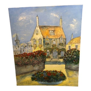 "Gerard Gouvrant ""Bruges"" Painting For Sale"