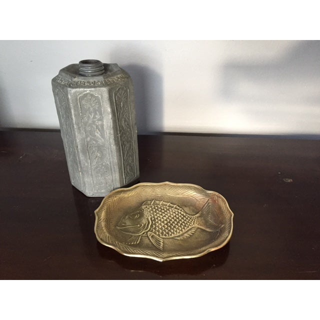 Brass Fish Tray - Image 6 of 6