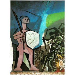 """1971 Picasso """"War & Peace"""" Parisian Photogravure For Sale"""
