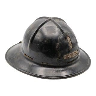 Vintage Fire Fighter Hat For Sale